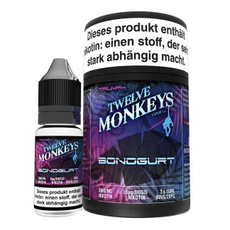 TWELVE MONKEYS - BONOGURT Premium LIQUID 3X 10ML-0