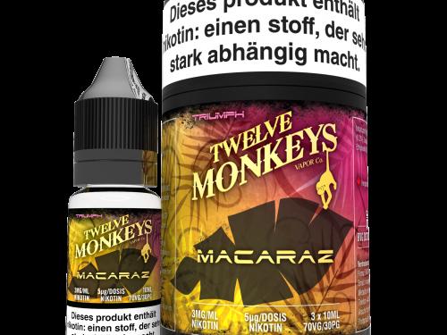 TWELVE MONKEYS - Macaraz Premium LIQUID 3X 10ML-0