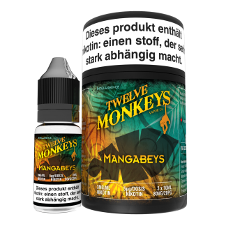TWELVE MONKEYS - Mangabeyes Premium LIQUID 3X 10ML-0