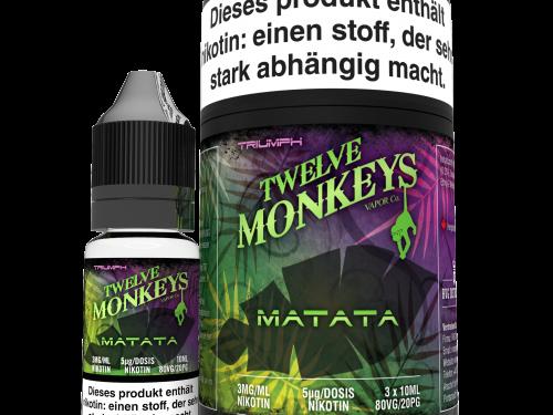 TWELVE MONKEYS - Matata Premium LIQUID 3X 10ML-0
