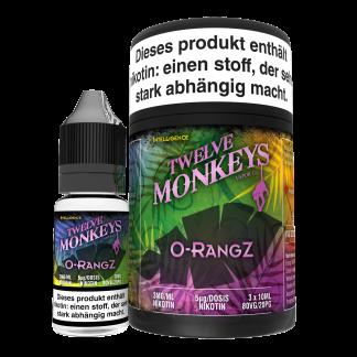 TWELVE MONKEYS - OrangZ Premium LIQUID 3X 10ML-0