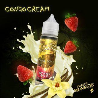 TWELVE MONKEYS - Congo Cream - Shake and Vape 50ml-0
