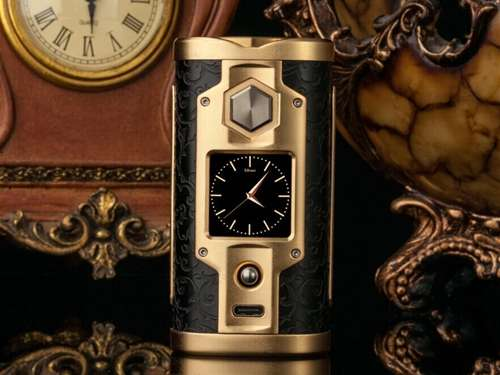 SXmini G Class Limited Gold Edition 200W TC Box MOD-0