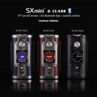SXmini G Class Limited Edition 200W TC Box MOD-0