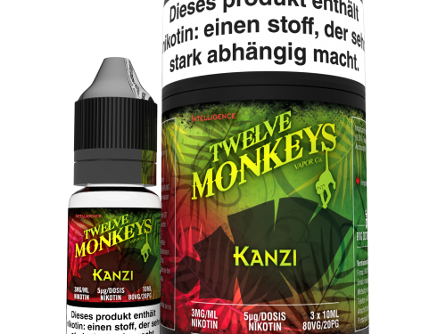 TWELVE MONKEYS - Kanzi Premium LIQUID 3X 10ML-0