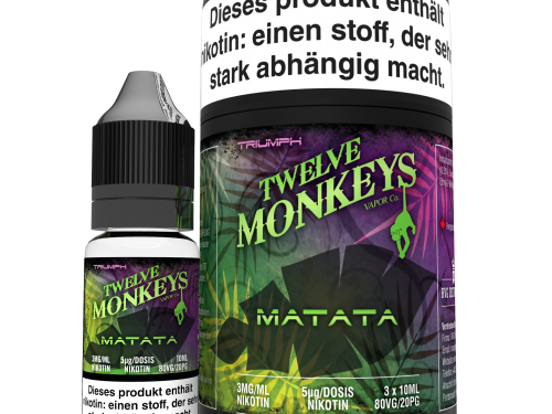 TWELVE MONKEYS - Matata Premium LIQUID 3X 10ML-0