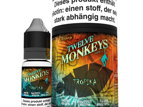 TWELVE MONKEYS - Tropika Premium LIQUID 3X 10ML-0