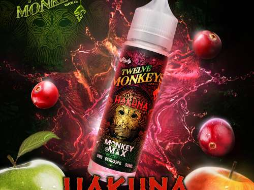 TWELVE MONKEYS - HAKUNA Shake and Vape 50ml-0